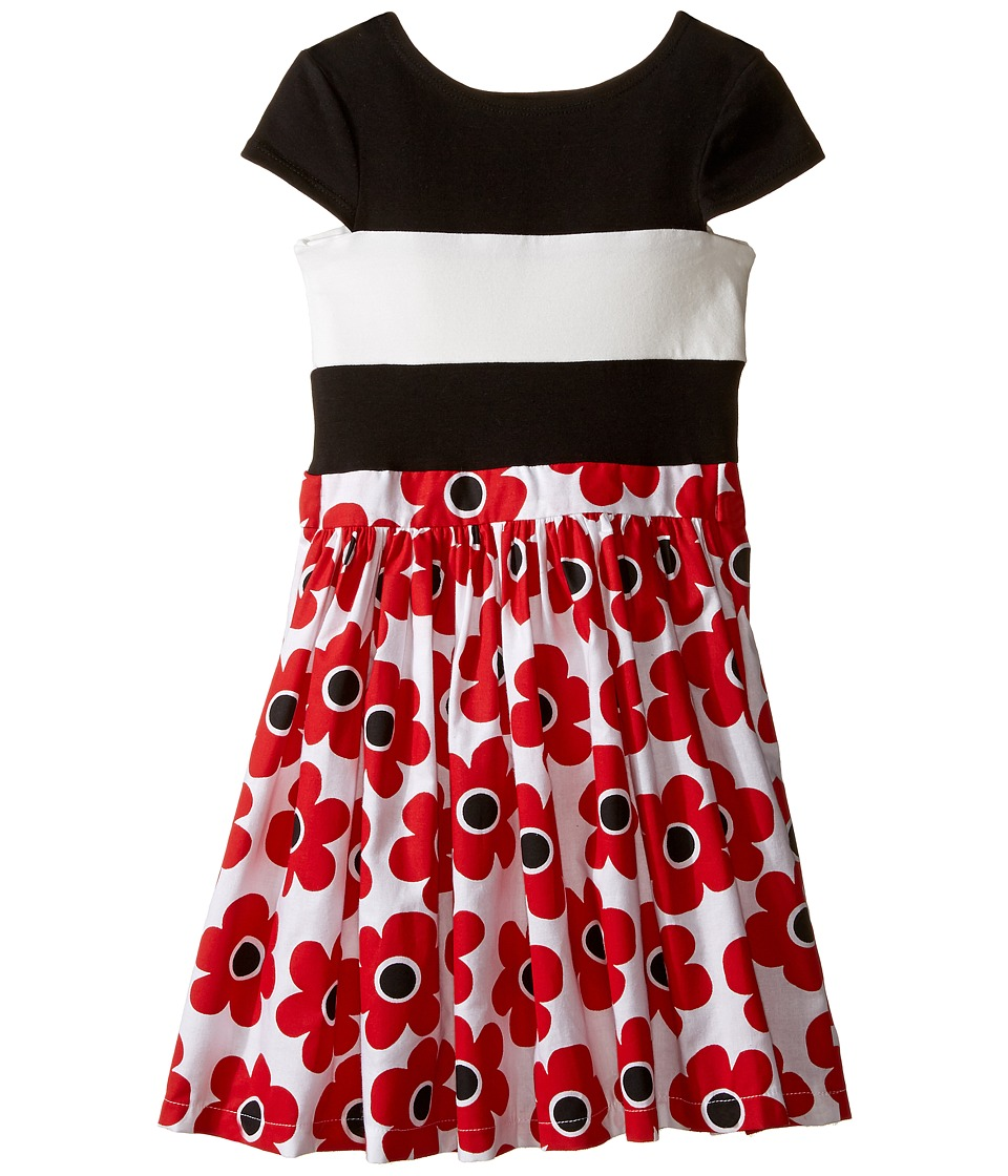 fiveloaves twofish - Kate Dress (Little Kids/Big Kids) (Red Daisy) Girl's Dress