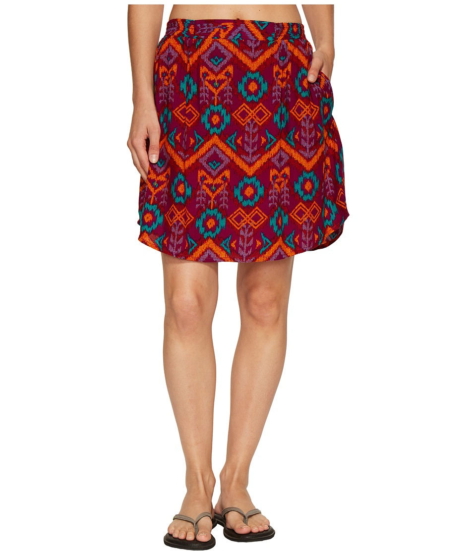 KAVU South Beach Skirt (Jewel Ikat) Women