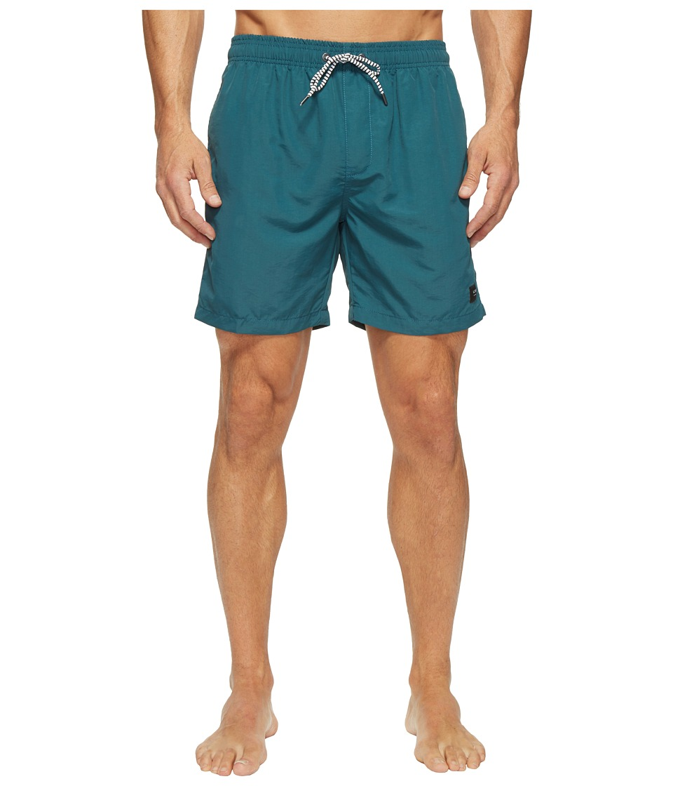 Globe - Dana V 16.5 Poolshorts (Dark Teal) Men's Swimwear