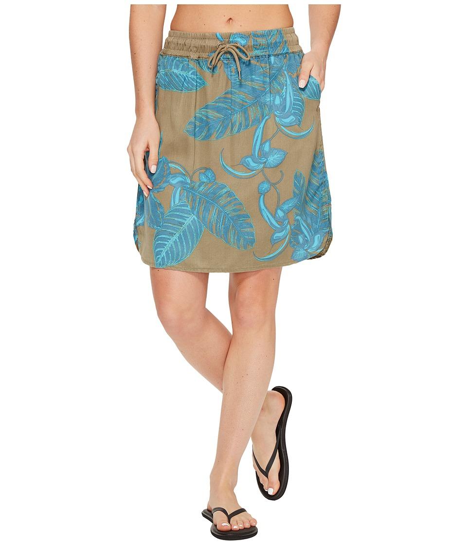 KAVU - Sunriver (Moss Palms) Women's Skirt