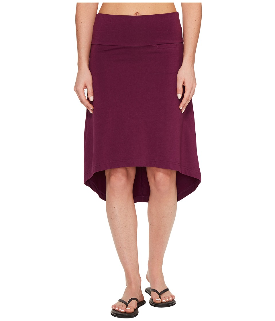 KAVU Stella Skirt (Purple) Women