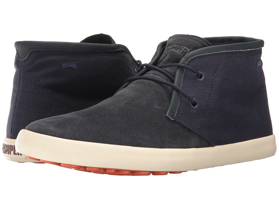Camper - Pelotas Persil Vulcanizado - K300066 (Dark Blue 1) Men's Lace-up Boots