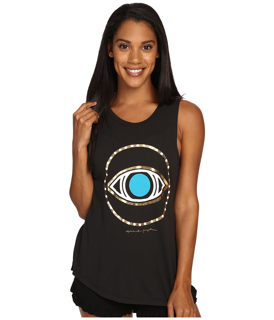 Spiritual Gangster - All Seeing Eye (Vintage Black) Women's Workout