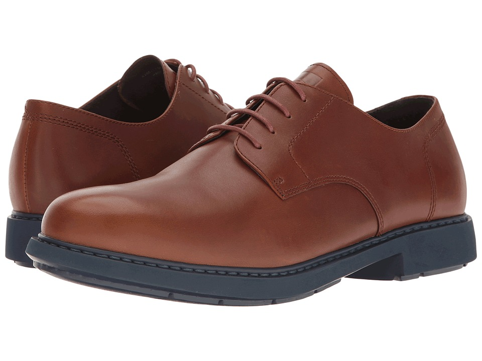 Camper - Neuman - K100152 (Light Brown) Men's Dress Flat Shoes