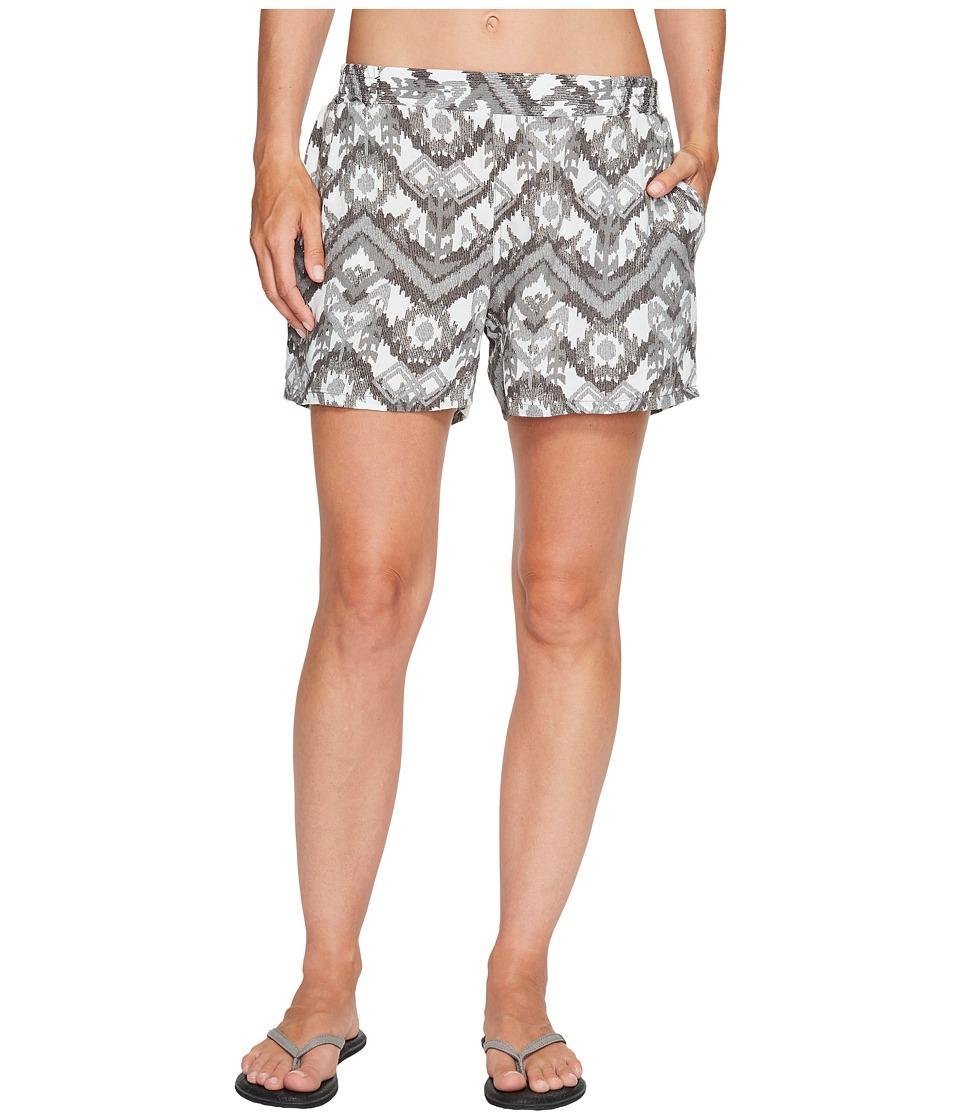 KAVU - Sally Shorts (Grey Ikat) Women's Shorts
