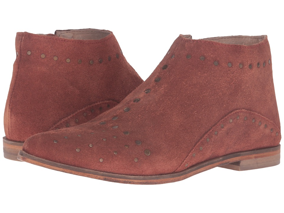 Free People - Aquarian Ankle Boot (Red) Women's Zip Boots