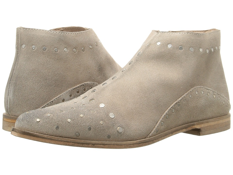 Free People - Aquarian Ankle Boot (Taupe) Women's Zip Boots