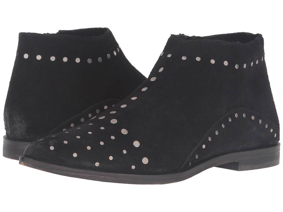 Free People - Aquarian Ankle Boot (Black) Women's Zip Boots
