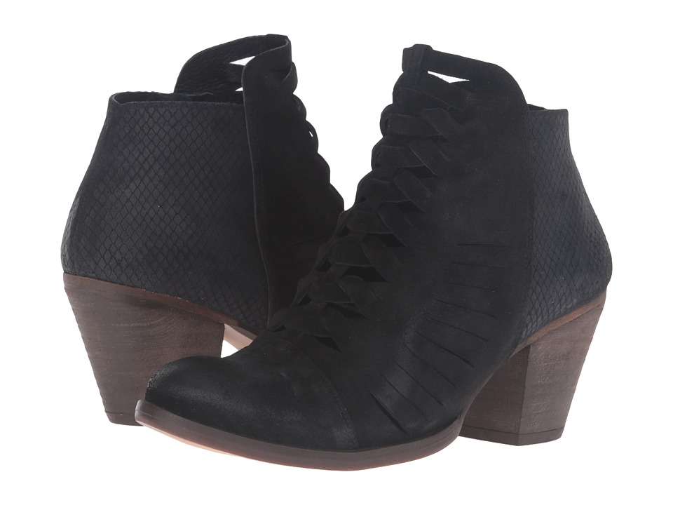 Free People - Loveland Ankle Boot (Black) Women's Lace-up Boots