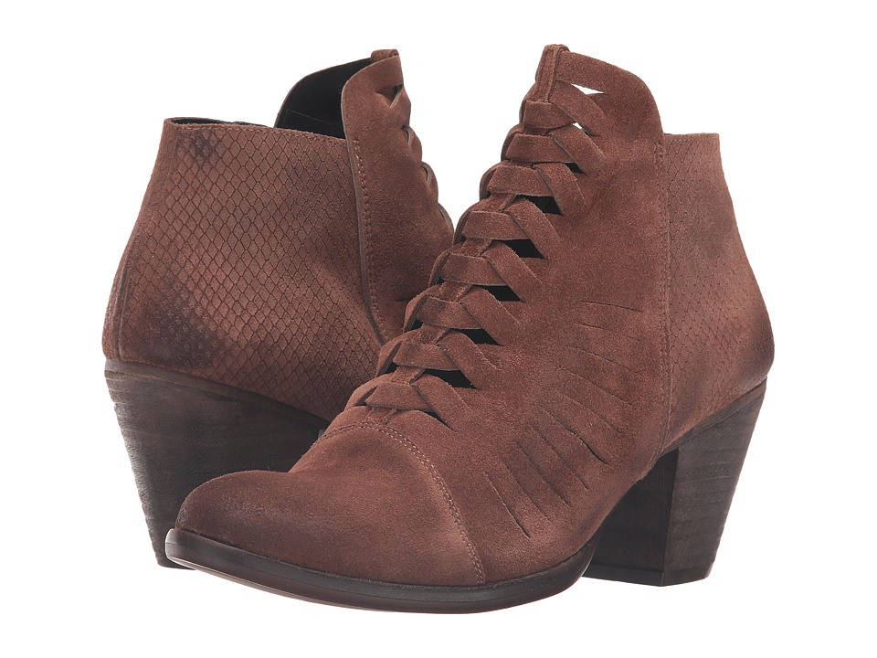 Free People - Loveland Ankle Boot (Brown) Women's Lace-up Boots