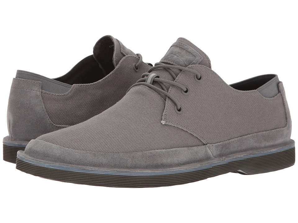 Camper - Morrys - K100088 (Light Grey) Men's Lace up casual Shoes