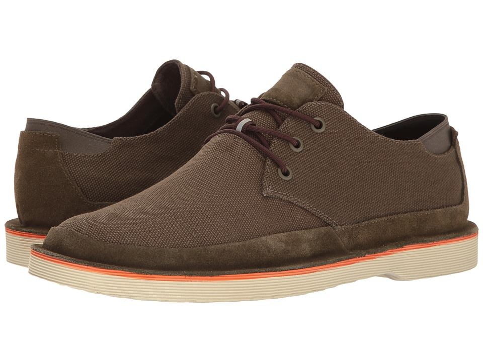 Camper - Morrys - K100088 (Olive) Men's Lace up casual Shoes