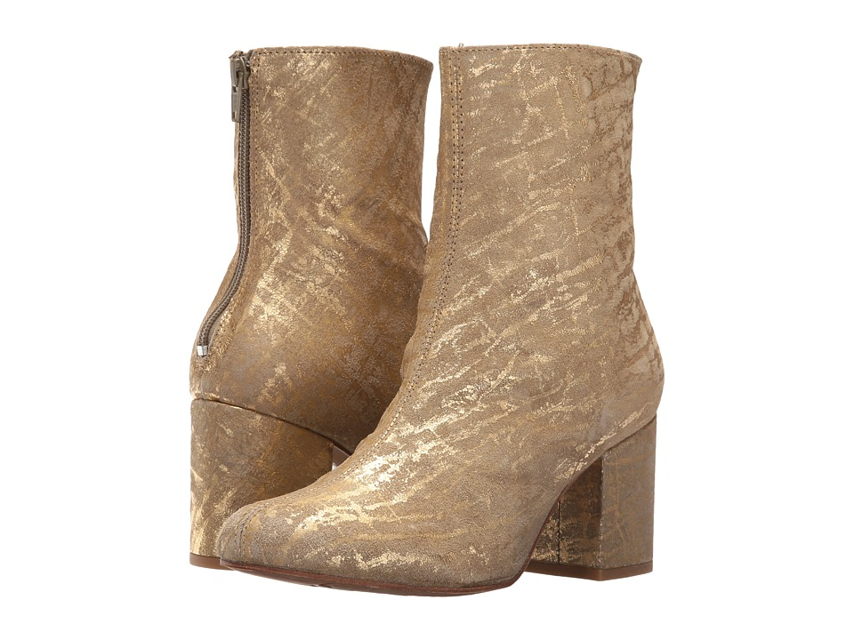 Free People Cecile Ankle Boot (Gold) Women