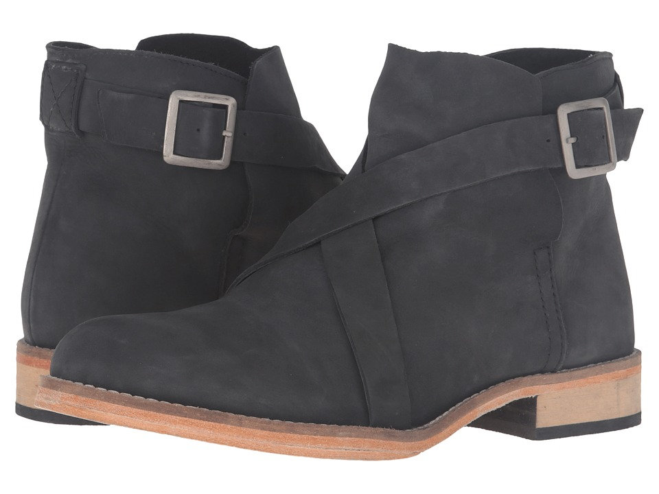 Free People Las Palmas Ankle Boot (Black) Women