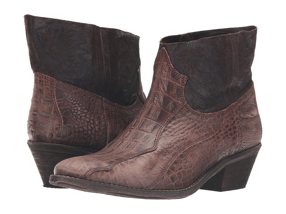 Free People - Dorado Ankle Boot (Brown Combo) Women's Pull-on Boots
