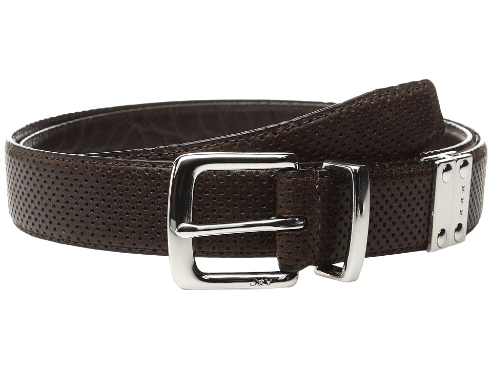 John Varvatos - Lamb Reversible Belt (Chocolate) Men's Belts