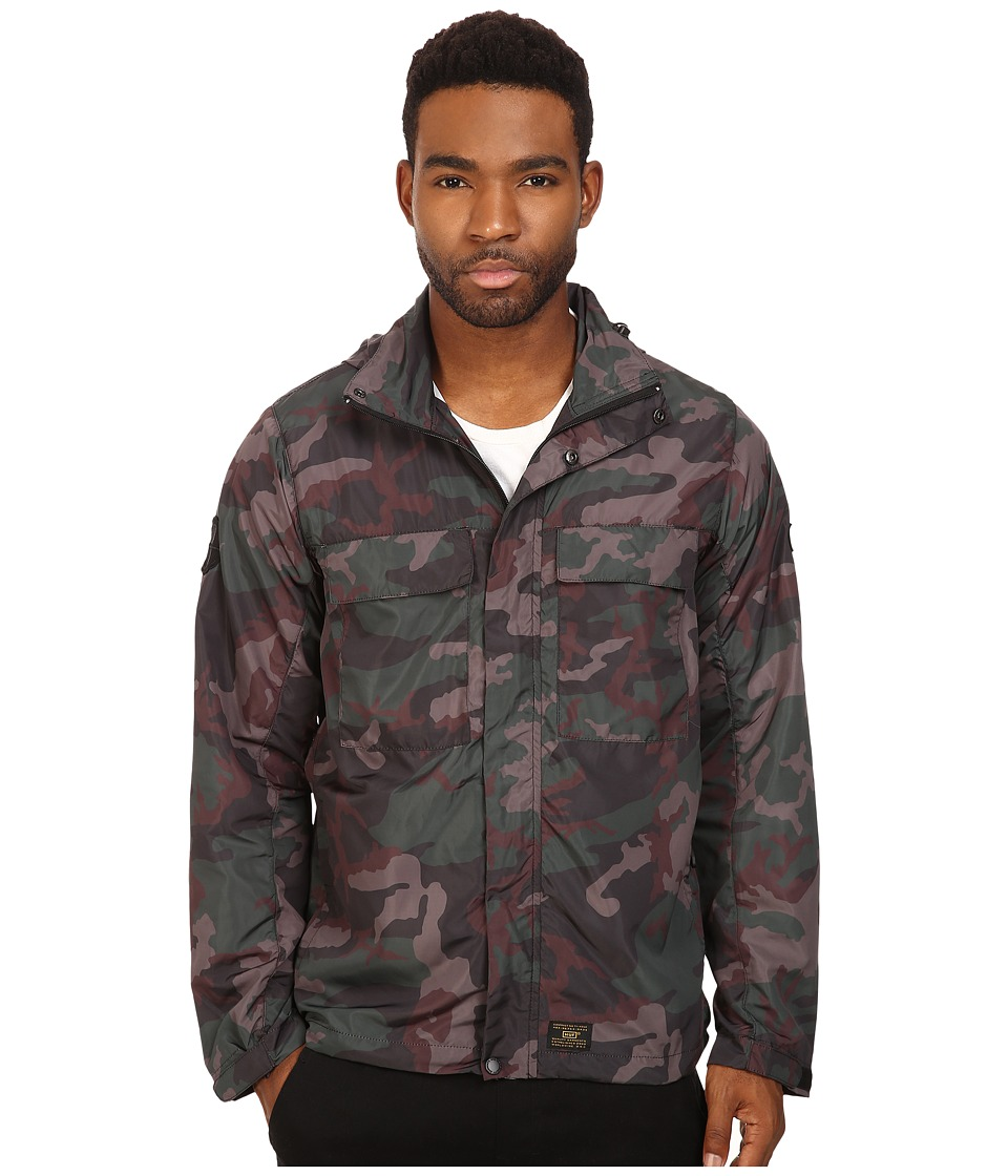HUF - Bickle M65 Tech Jacket (Woodland) Men's Coat
