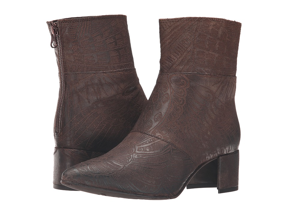 Free People Aura Ankle Boot (Brown) Women