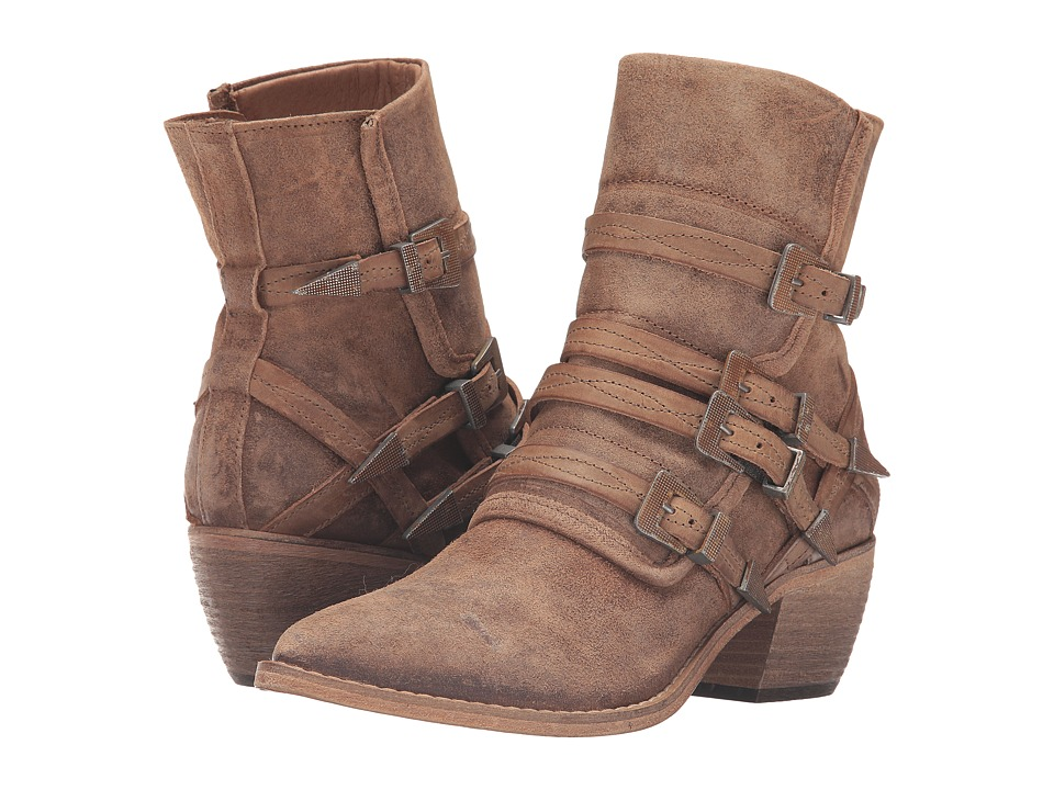 Free People - Mason Western Boot (Nude) Women's Pull-on Boots