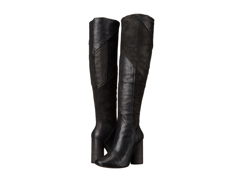 Free People Bright Lights Otk Tall Black Pull-on Boots
