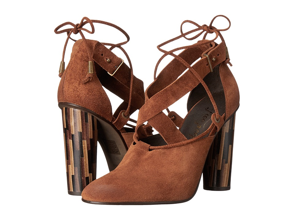 Free People Nouvella Wrap Brown High Heels