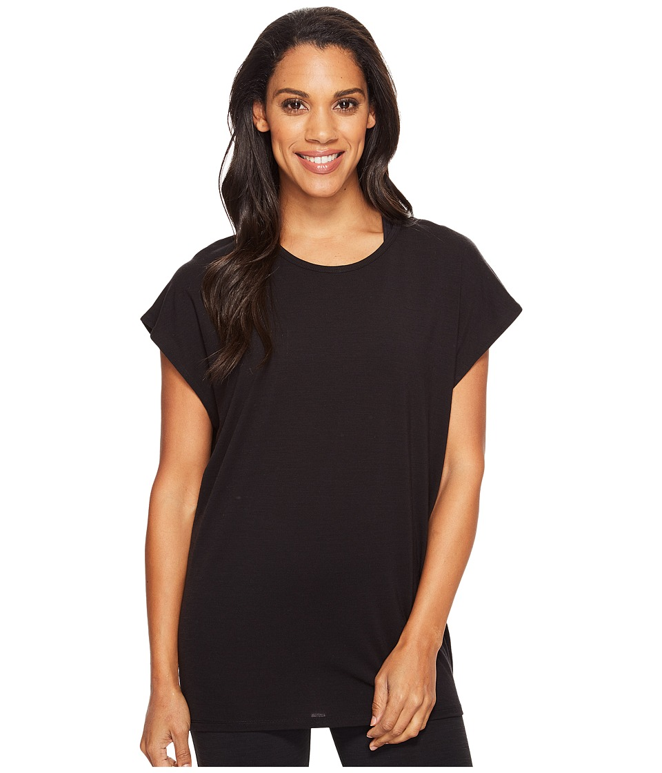 Icebreaker - Aria Tunic (Black) Women's Clothing