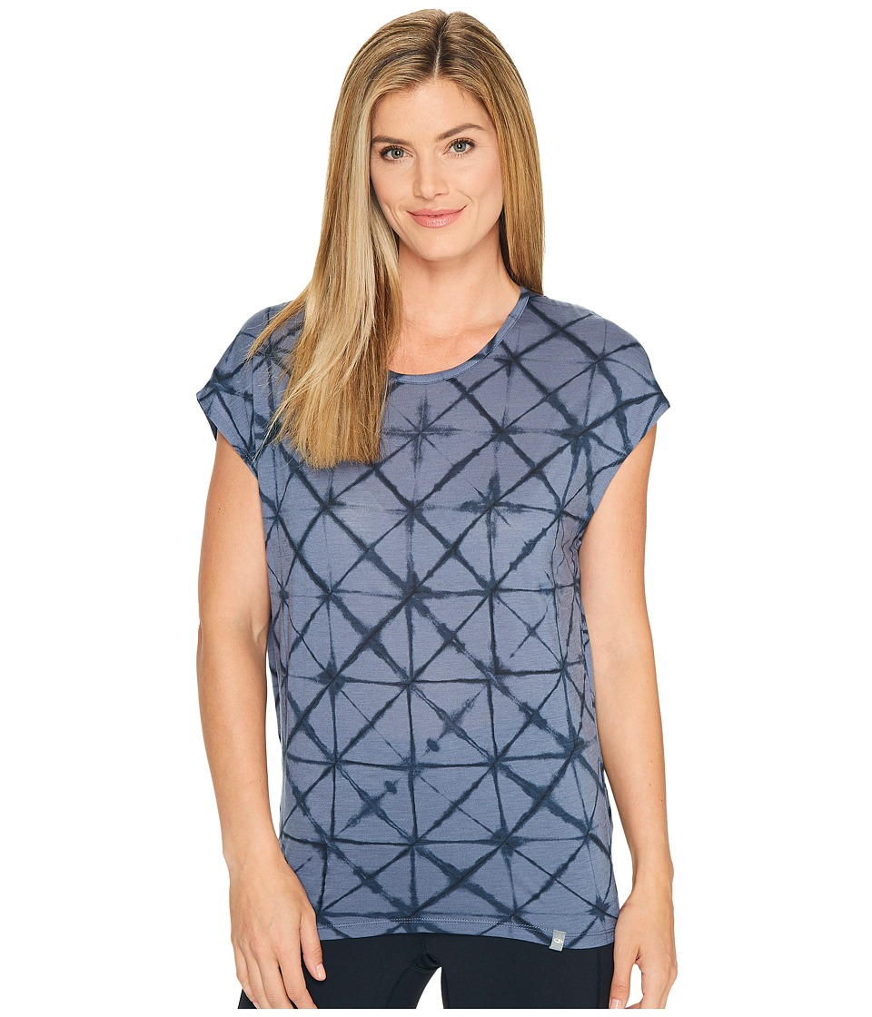Icebreaker - Nomi Short Sleeve Prism Fade (Gumtree/Stealth) Women's Clothing