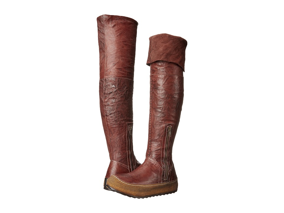 Free People - Glacier Pass Tall Hiker (Burnt Orange) Women's Pull-on Boots