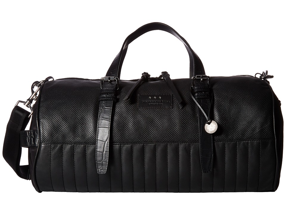 John Varvatos - Remy Barrel Duffel Bag (Black) Duffel Bags