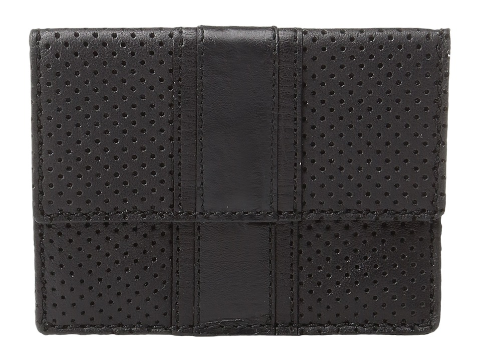 John Varvatos Star U.S.A. - Remy Card Case (Black) Wallet