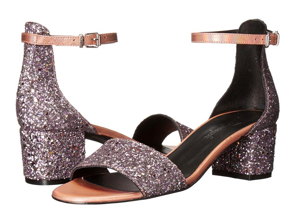 Free People - Marigold Block Heel (Pink) High Heels