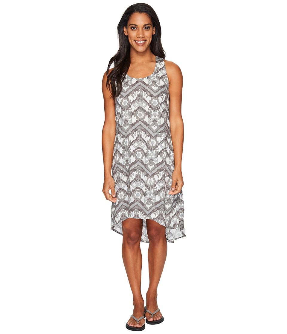 KAVU Jocelyn Dress (Grey Ikat) Women