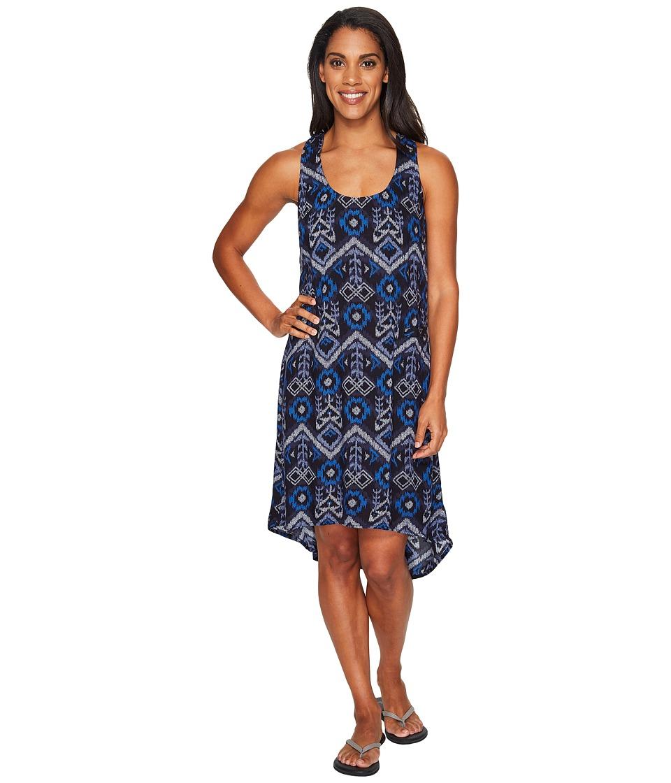 KAVU Jocelyn Dress (Blue Ikat) Women