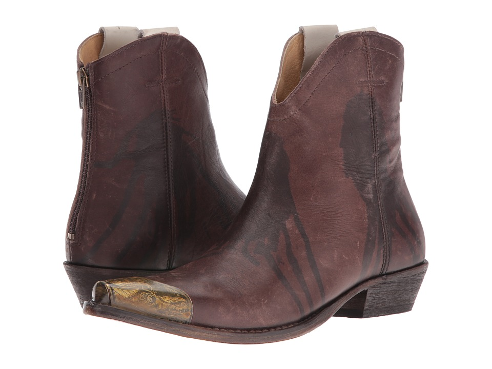 Free People Lost Trail Ankle Boot (Chocolate) Women