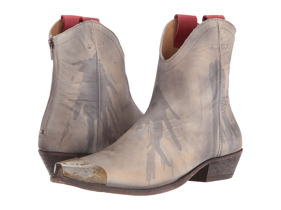 Free People Lost Trail Ankle Boot (Light Grey) Women