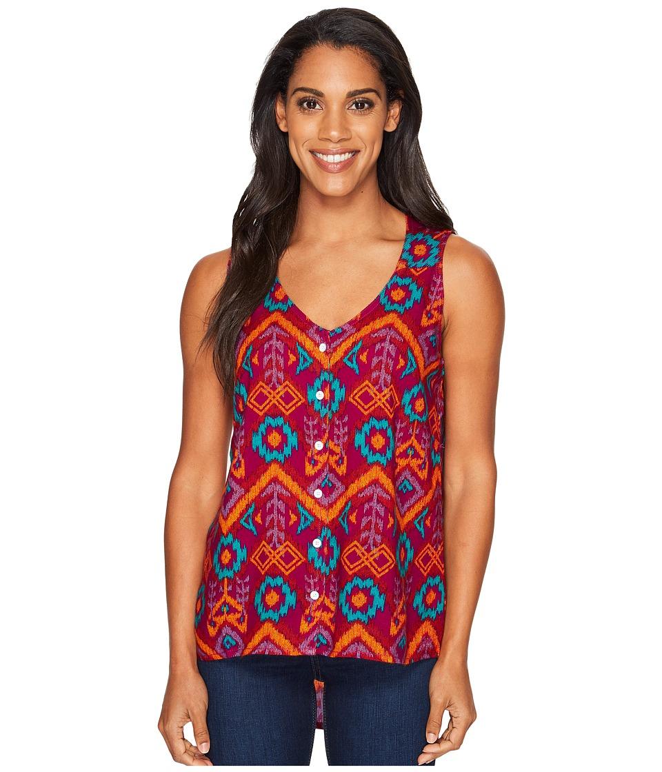 KAVU - Beryl Top (Jewel Ikat) Women's Clothing
