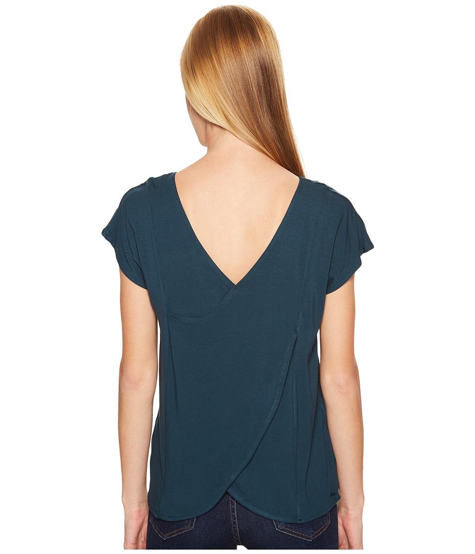 KAVU - Eleanor Top (Deep Teal) Women's Clothing