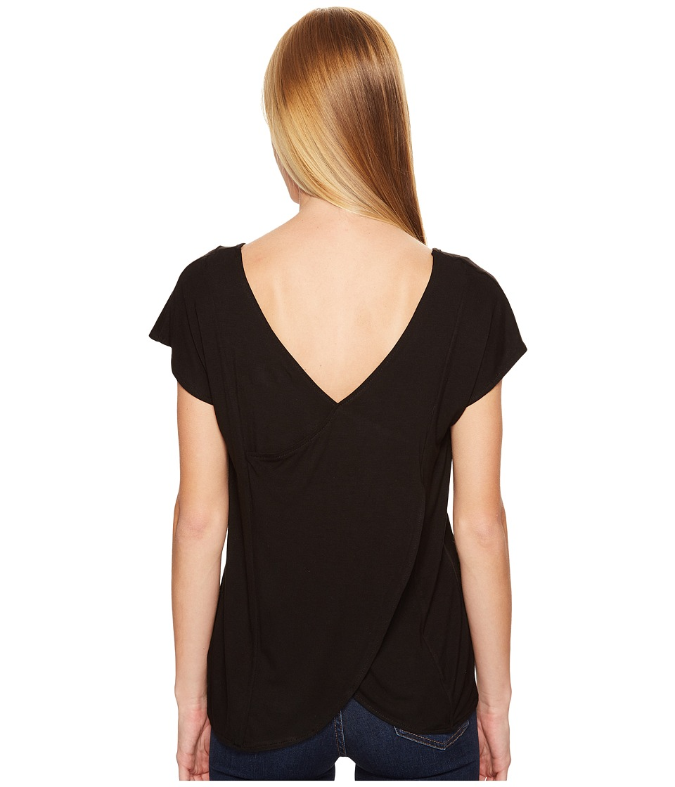 KAVU - Eleanor Top (Black) Women's Clothing