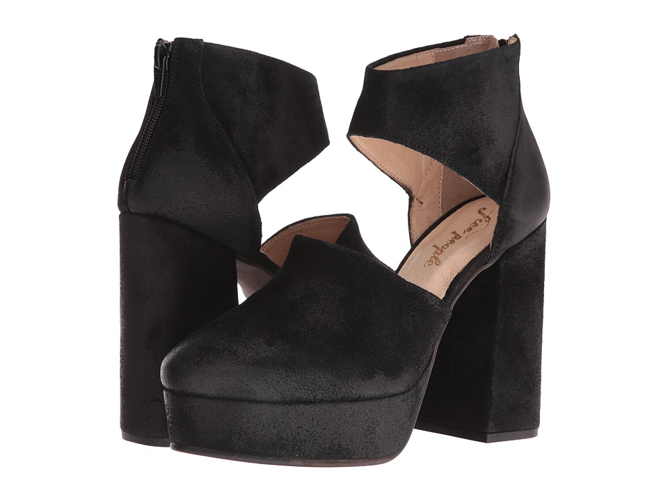 Free People - Luxop Platform (Black) High Heels