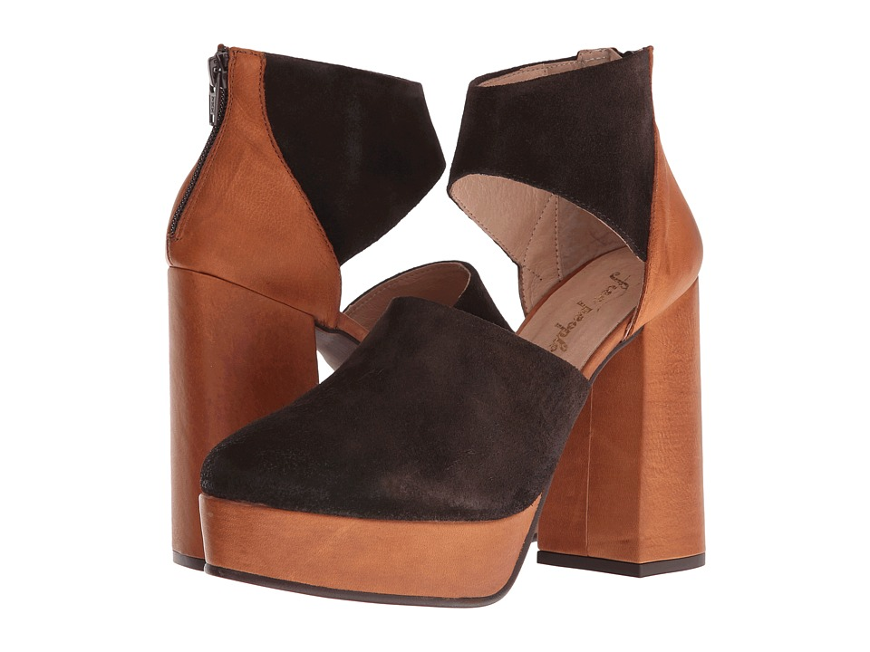 Free People - Luxop Platform (Taupe) High Heels
