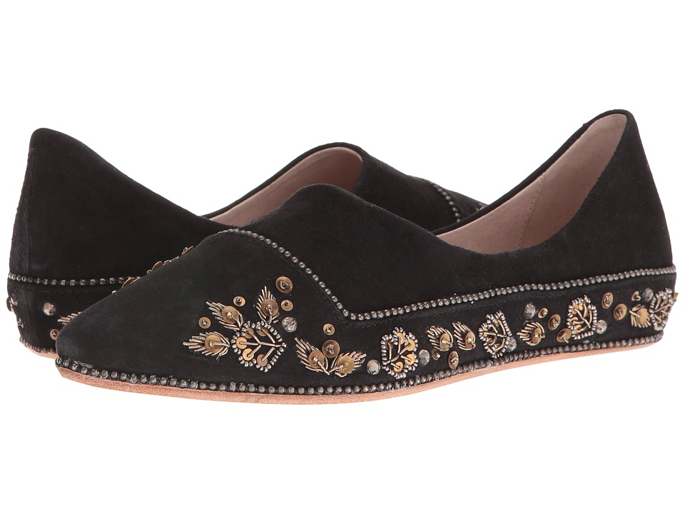Free People - Parissa Flat (Black) Women's Flat Shoes