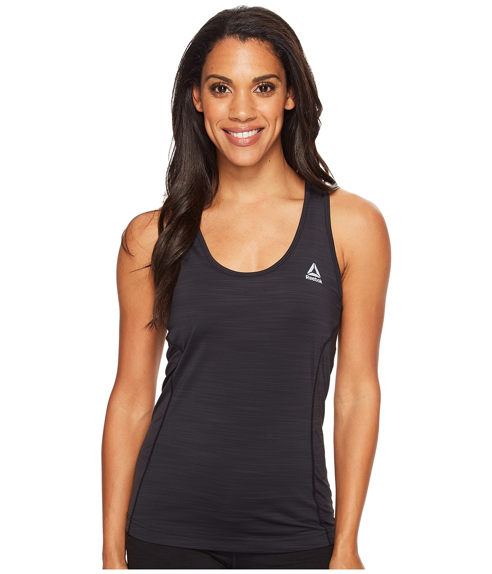 Reebok - Running Essentials Activchill Tank Top (Black) Women's Sleeveless
