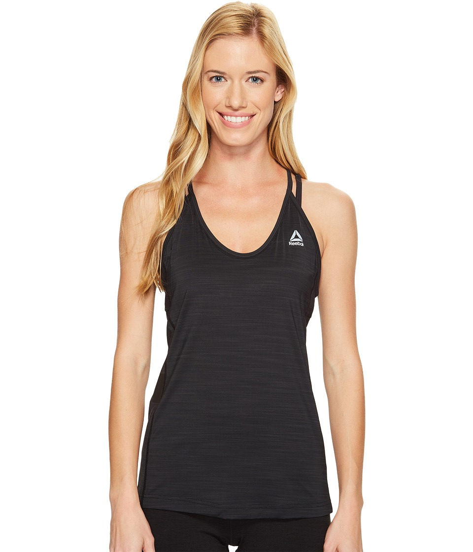 Reebok - Activchill Tank Top (Black) Women's Sleeveless