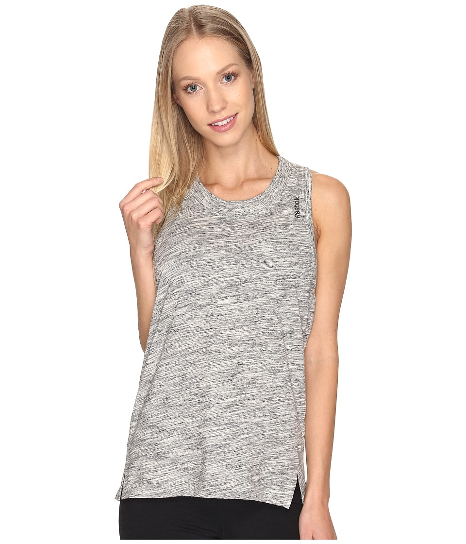 Reebok - Elements Marble Tank Top (Chalk) Women's Sleeveless