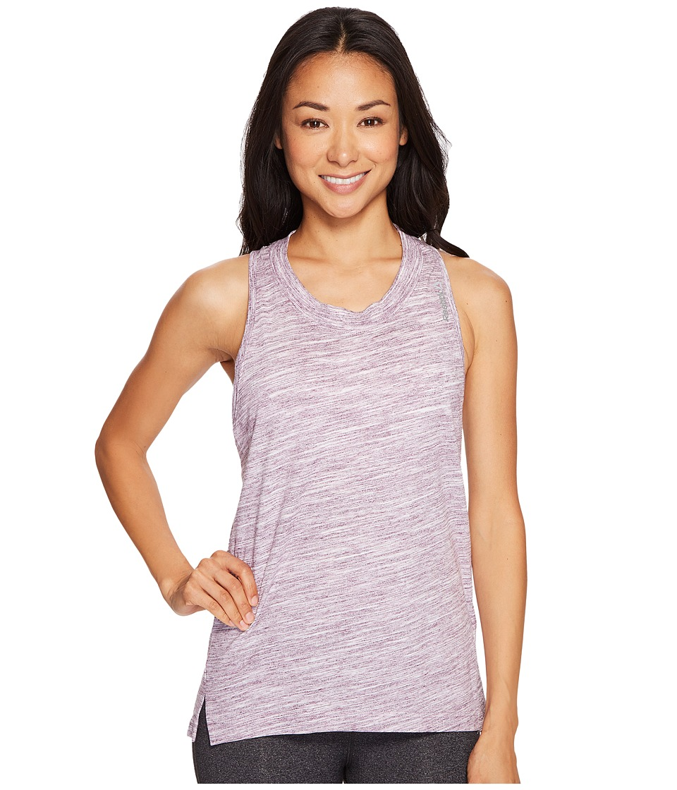Reebok - Elements Marble Tank Top (Pacific Purple) Women's Sleeveless
