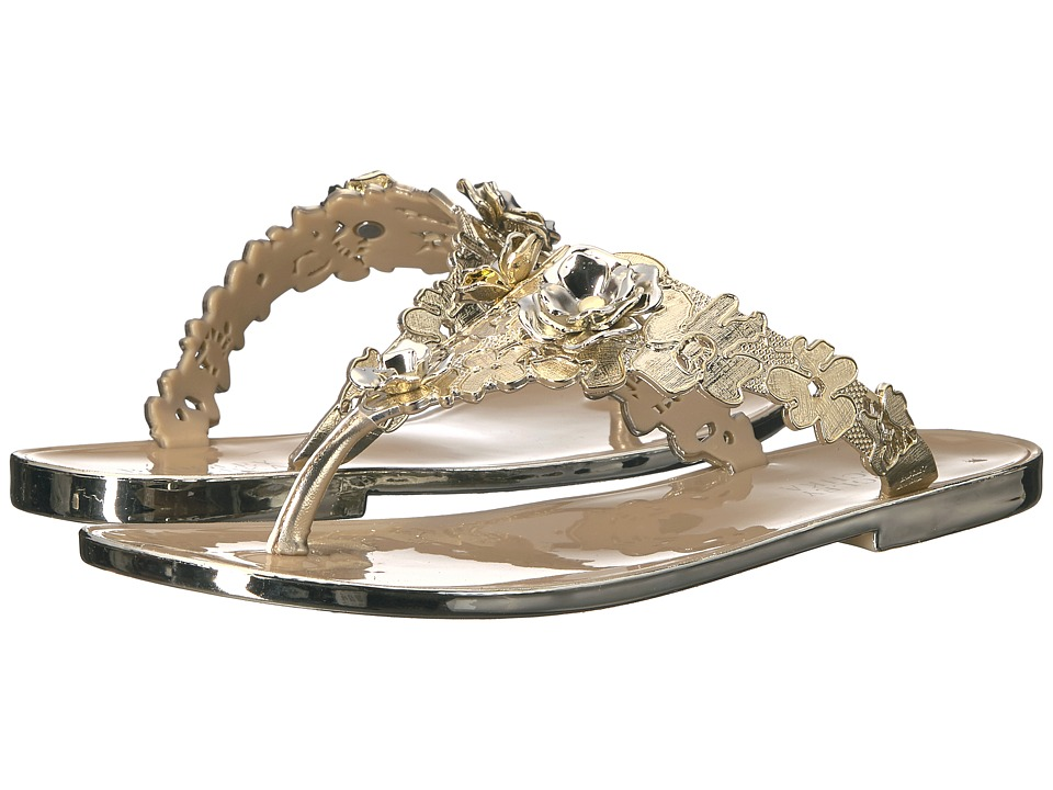 Badgley Mischka - Bali (Platino Jelly PVC) Women's Sandals