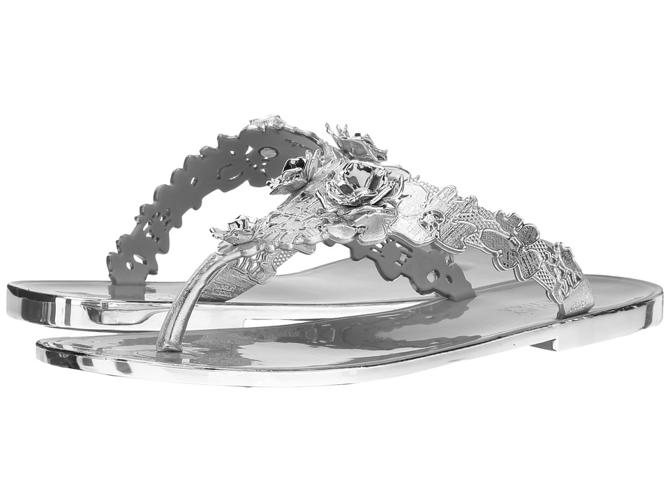 Badgley Mischka - Bali (Silver Jelly PVC) Women's Sandals