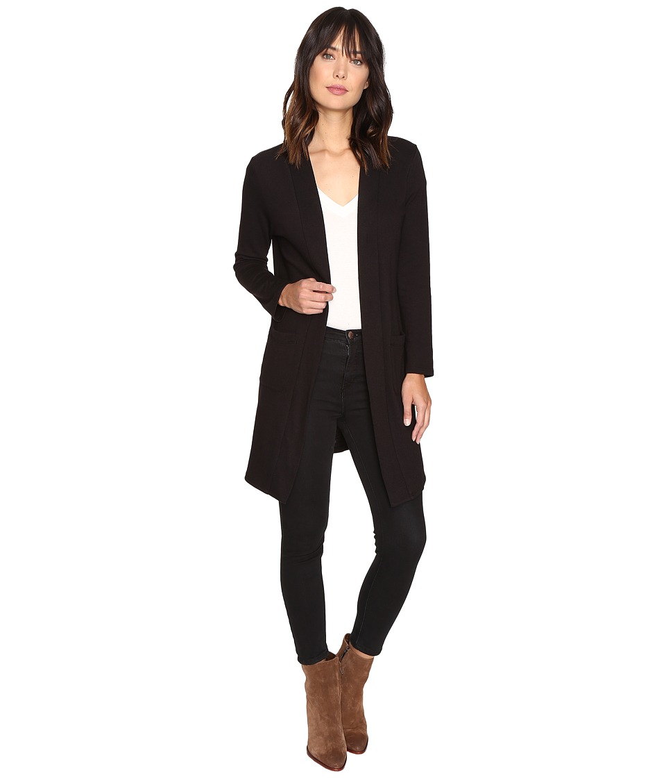 Lanston - Pocket Cardigan (Black) Women's Sweater