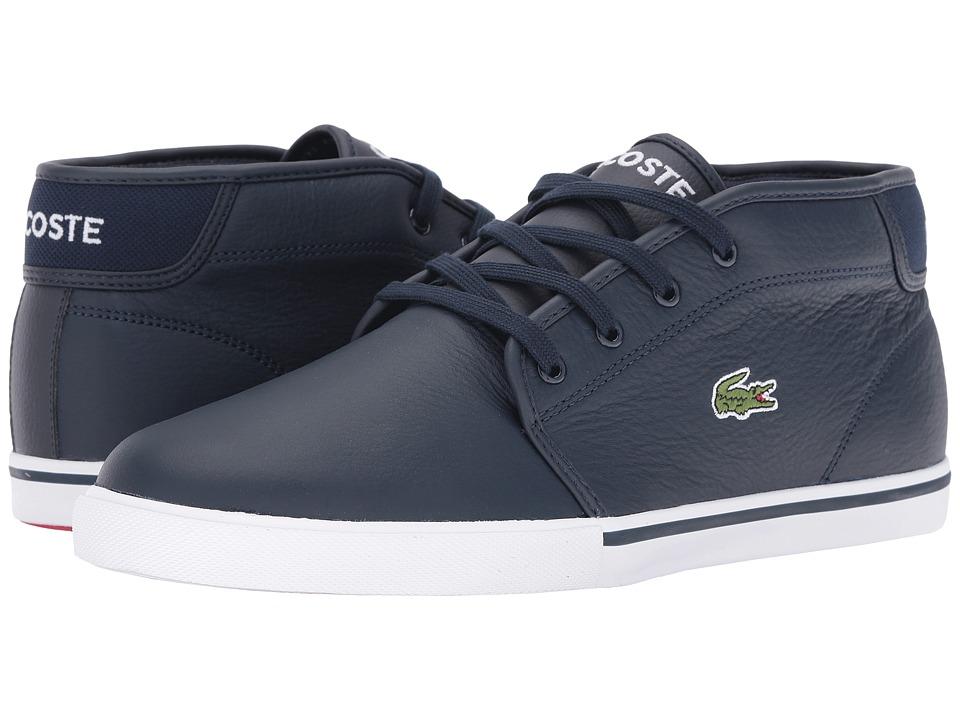 59cbe16e3 Lacoste Sherbrooke Hi Boots Dark Blue Mens Footwear Shop Mens ...