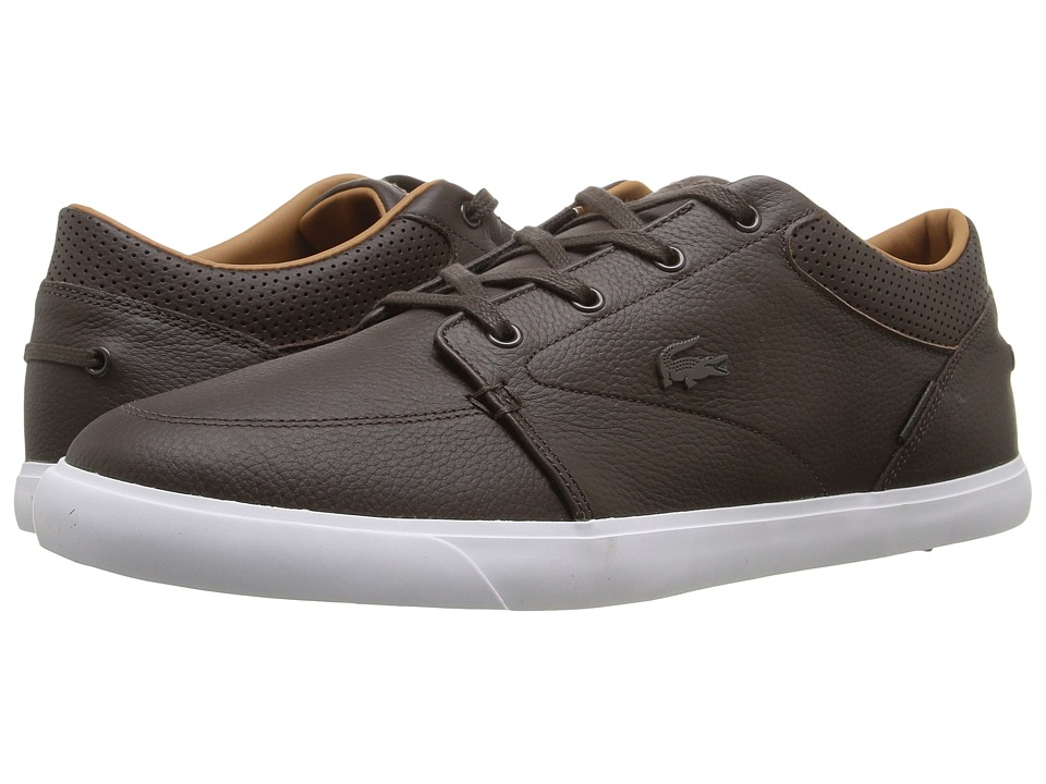 Lacoste - Bayliss Vulc G416 1 (Dark Brown/Dark Brown) Men's Shoes